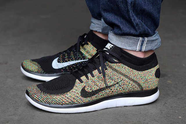 save off 2db5d 4451e Nike flyknit 4.0 multicolor