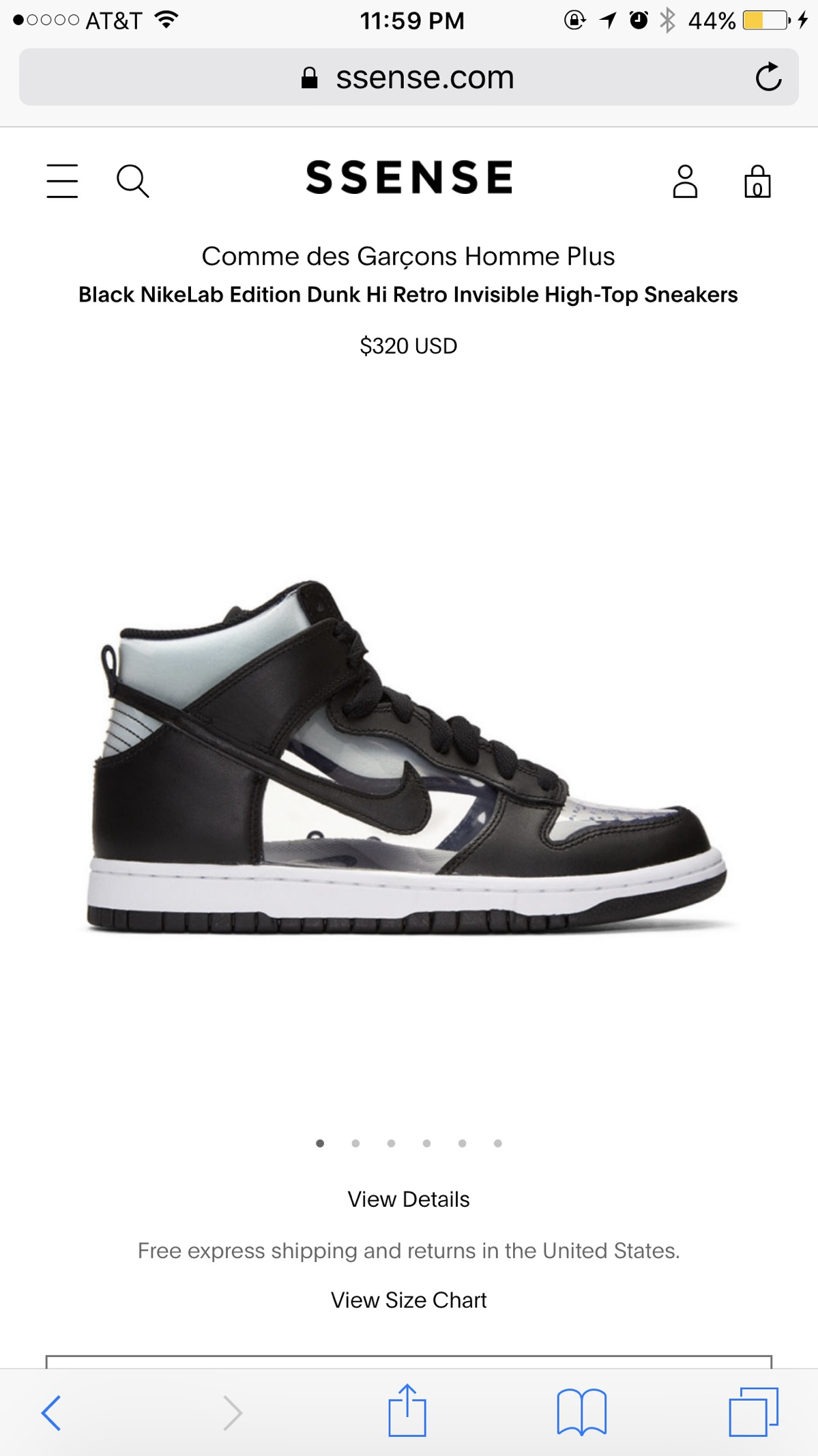 b622192b353e Nike Clear Dunks Size 7 - Hi-Top Sneakers for Sale - Grailed