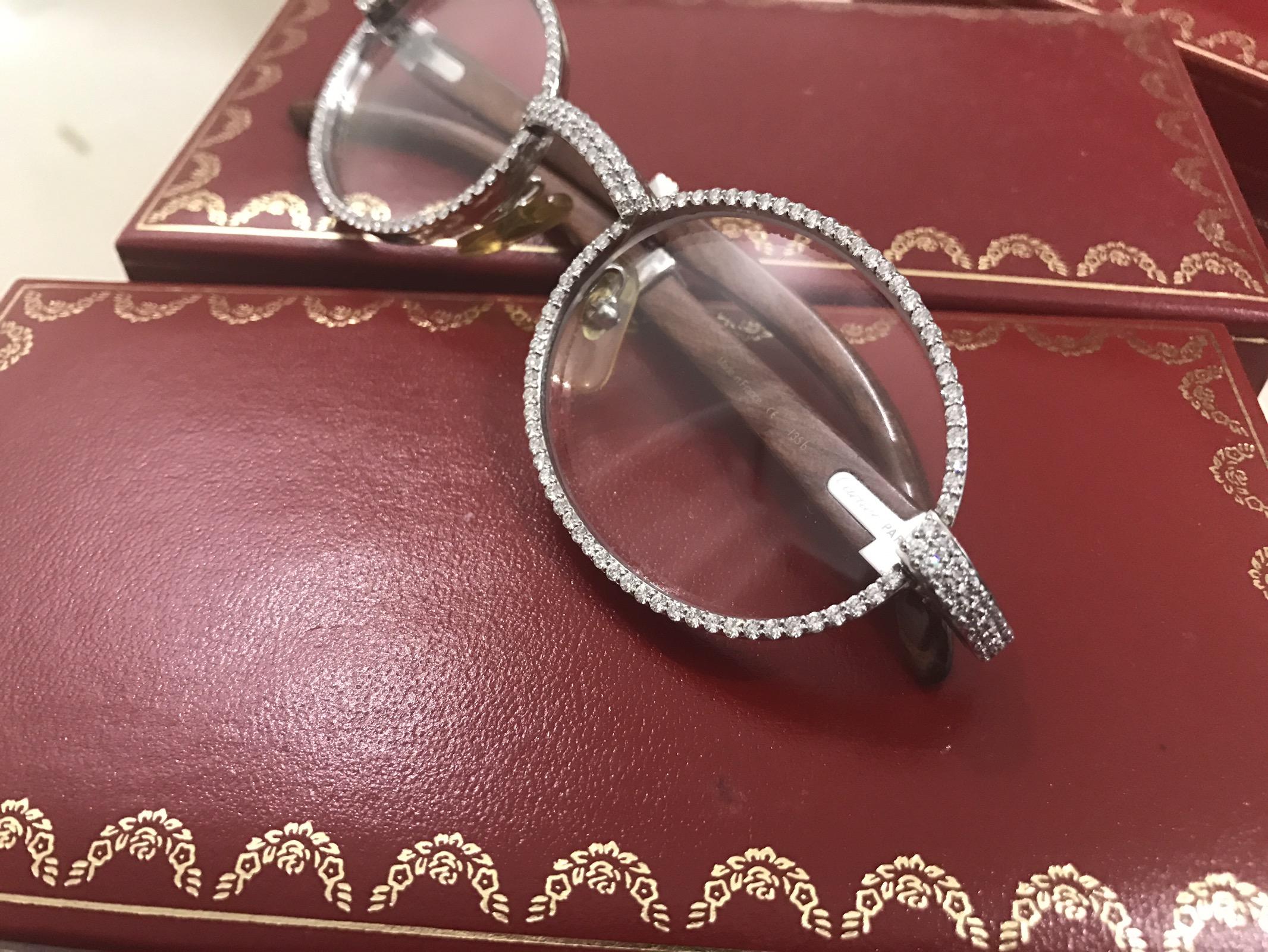 d1a480e34b Cartier Diamond Eyewear - eyewear near me