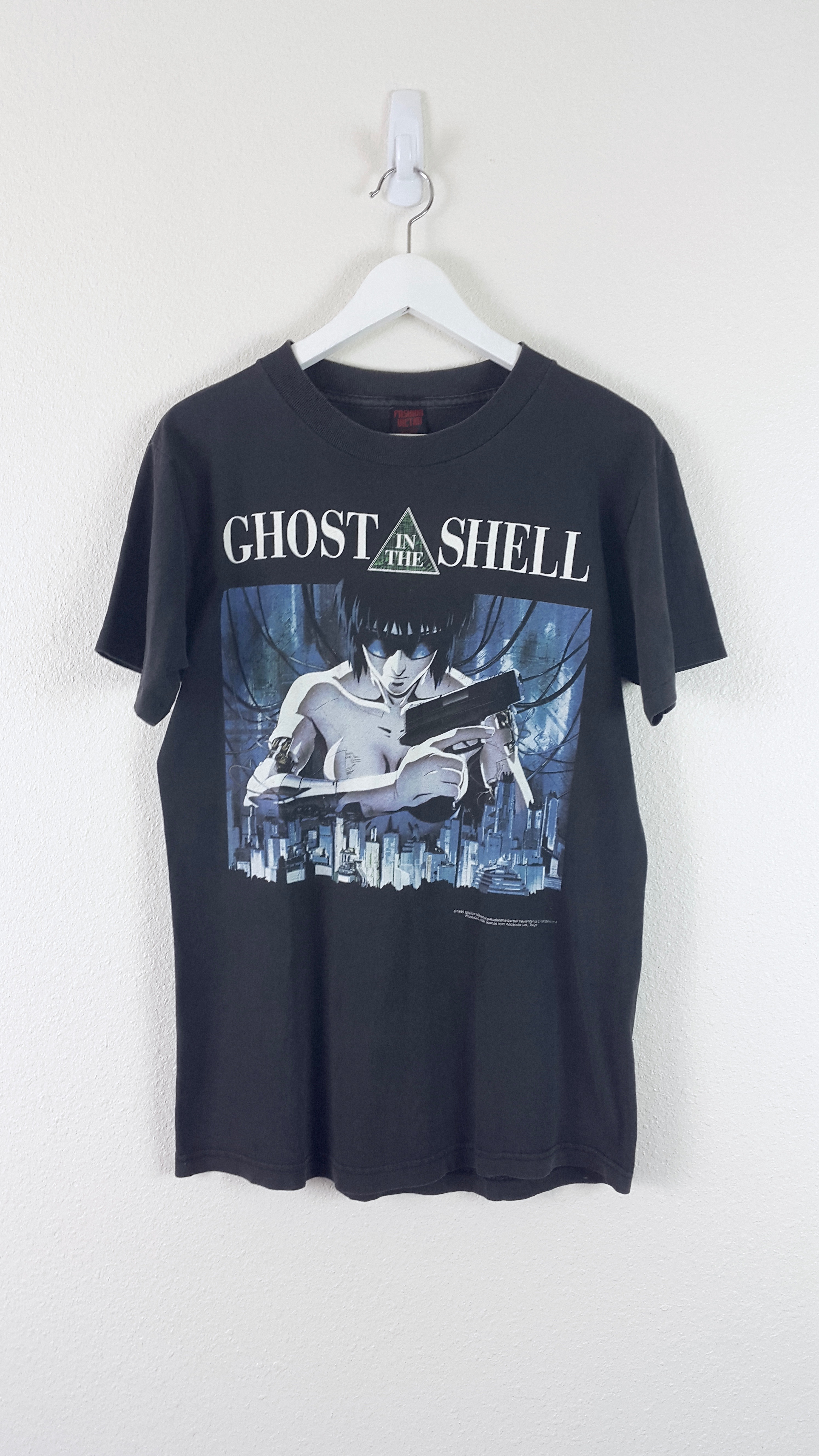 Unknown Vintage Ghost In The Shell Graphic Tee 1996 Grailed