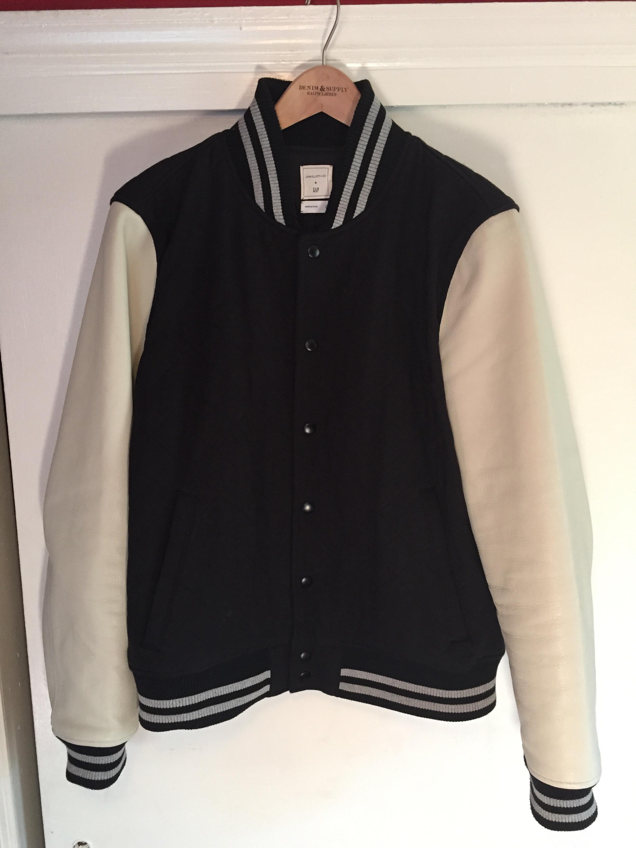 bad93b6ac John Elliott X Gap varsity jacket Size l - Light Jackets for Sale ...