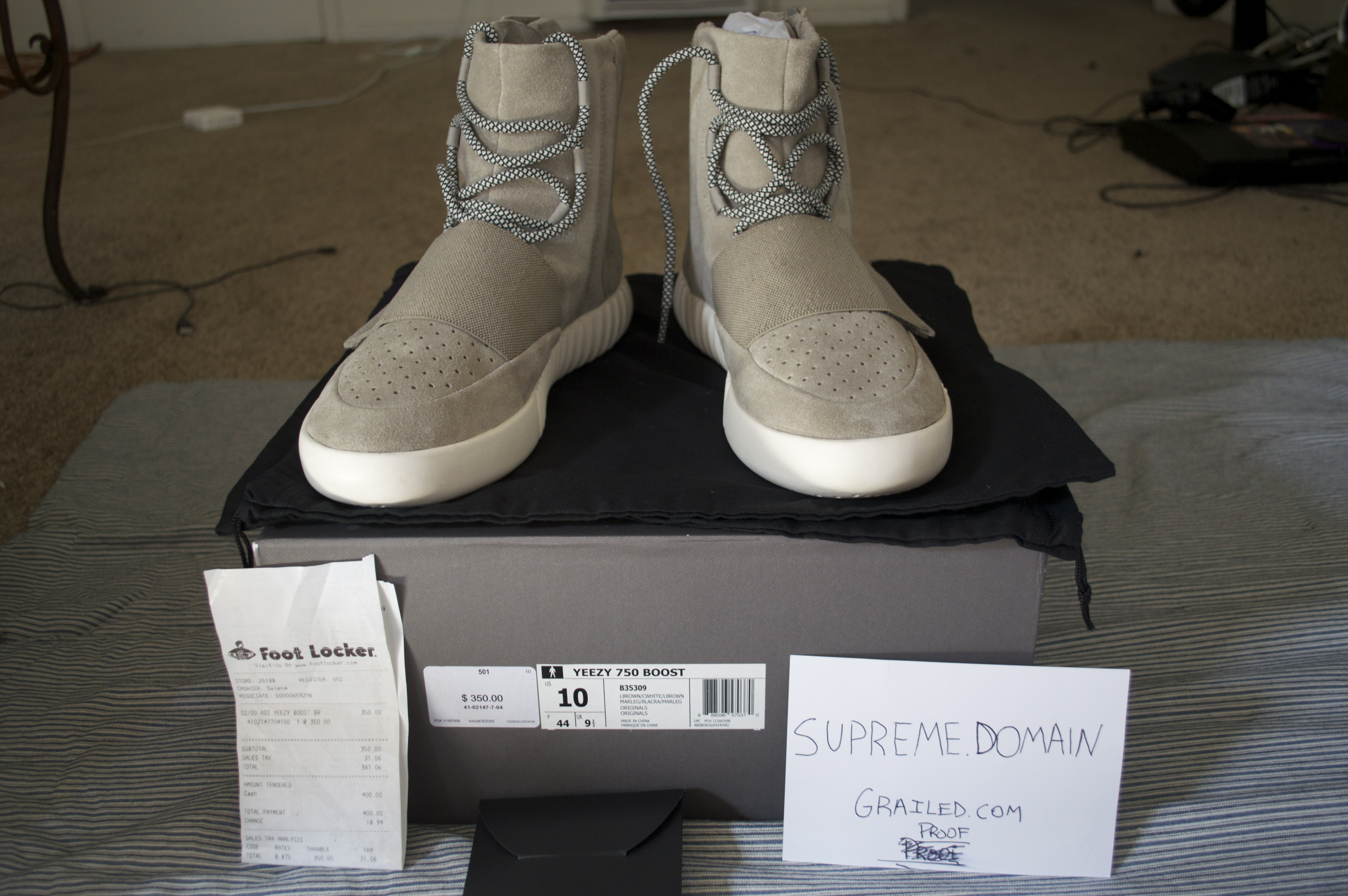 78bc58a87 Adidas Yeezy 750 Boost Size 10 - for Sale - Grailed