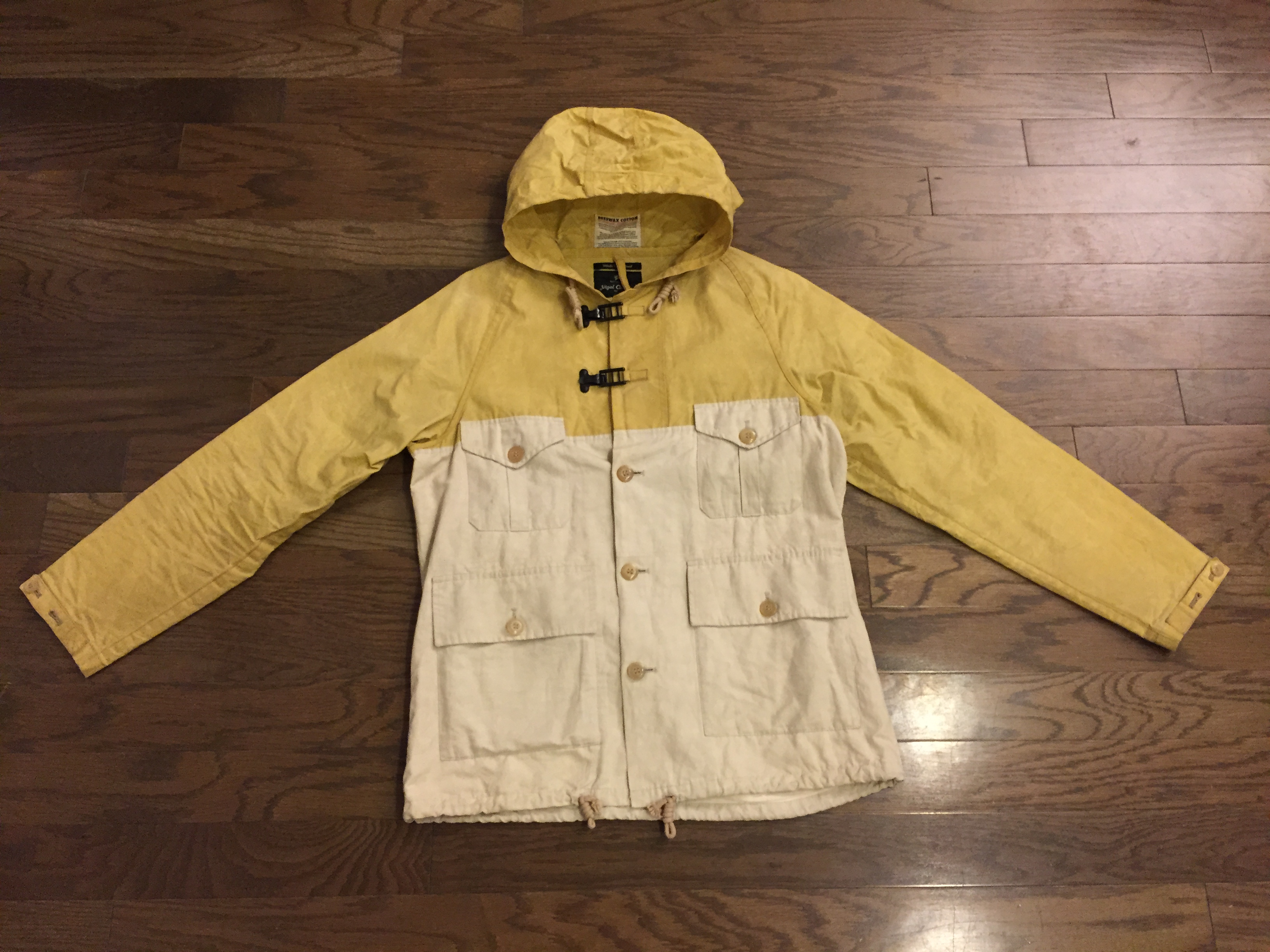 9b30f294662a Nigel Cabourn Vintage-Beeswax Cameraman Jkt Size m - for Sale - Grailed