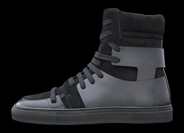 Kris Van Assche FW 2010 Black Hitop sneaker Size 9.5 - Hi-Top Sneakers for  Sale - Grailed b1c59ce88
