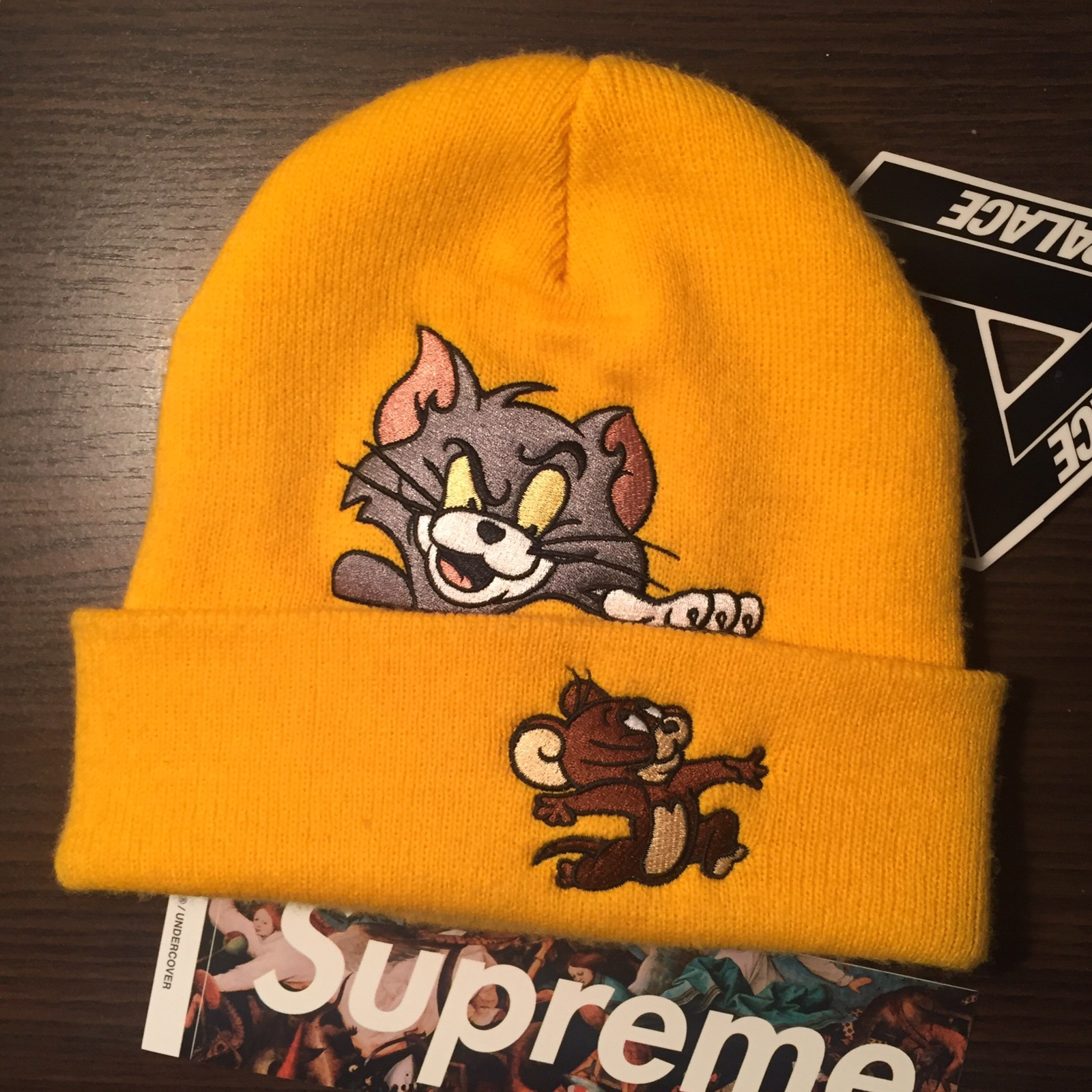 fde9477fede Supreme Supreme Tom and Jerry Beanie Collab Size one size - Hats for Sale -  Grailed