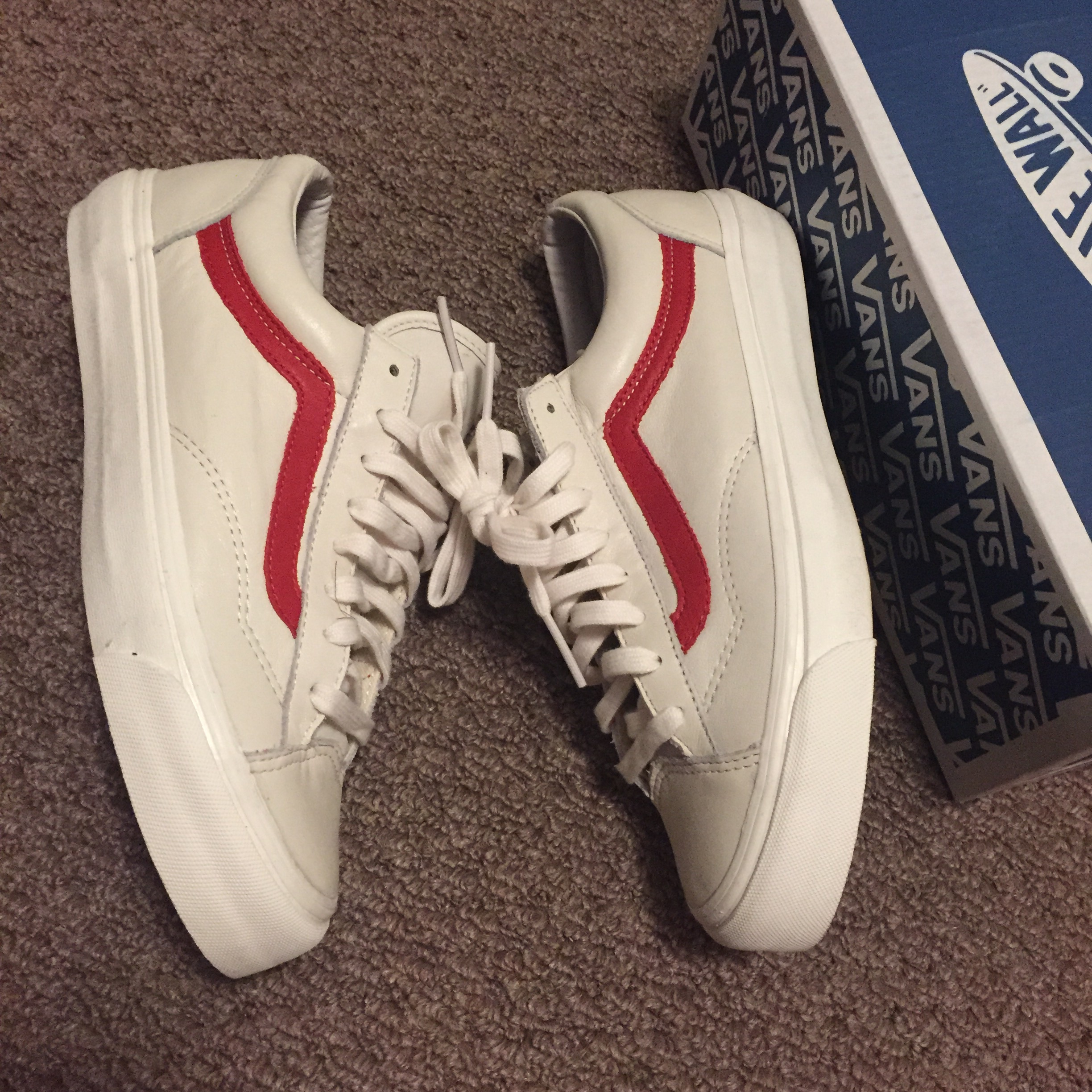 a2e07624bb Vans OG Style 36 LX Premium Leather Size 8 - for Sale - Grailed