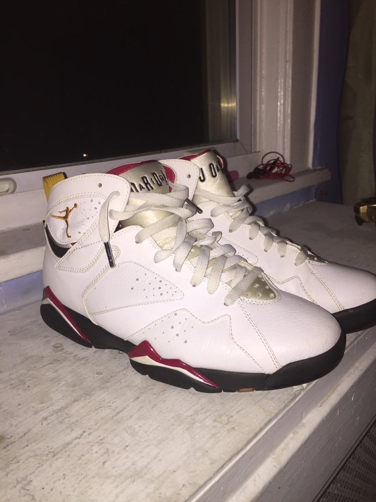 reputable site 91478 3efc7 Air Jordan Cardinal 7s 2011 Release LAST PRICE DROP!!!1