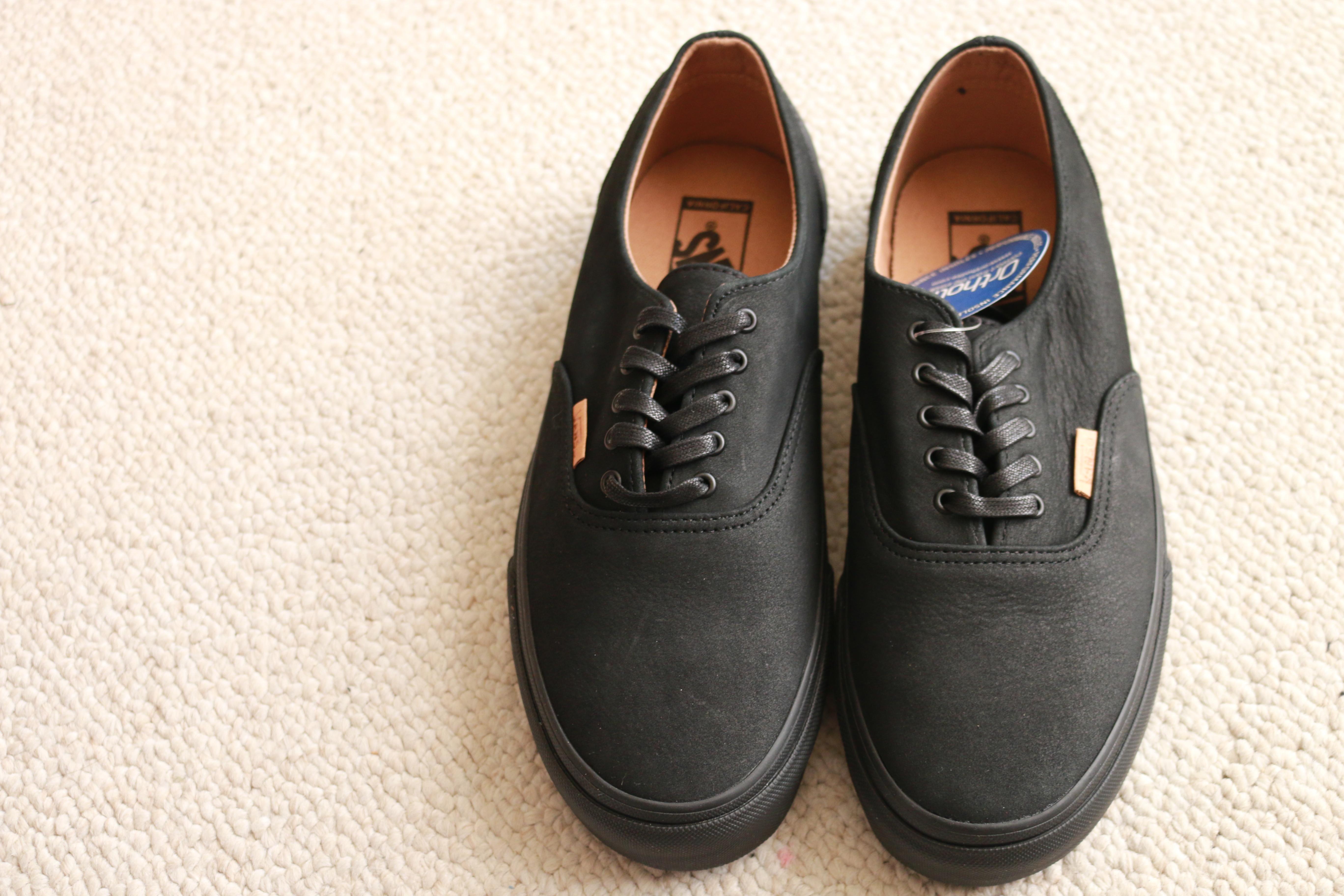 dd028e8a2c Vans ×. Era Decon CA Black Leather