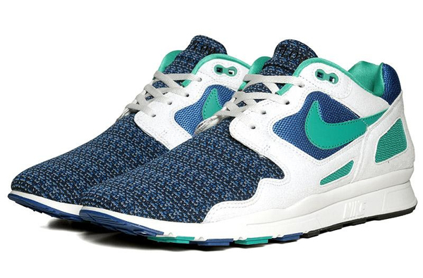 Nike NIKE Air Flow (Storm Blue New Green - Summit White) size 9 Size 9 -  Low-Top Sneakers for Sale - Grailed 6825b25f45