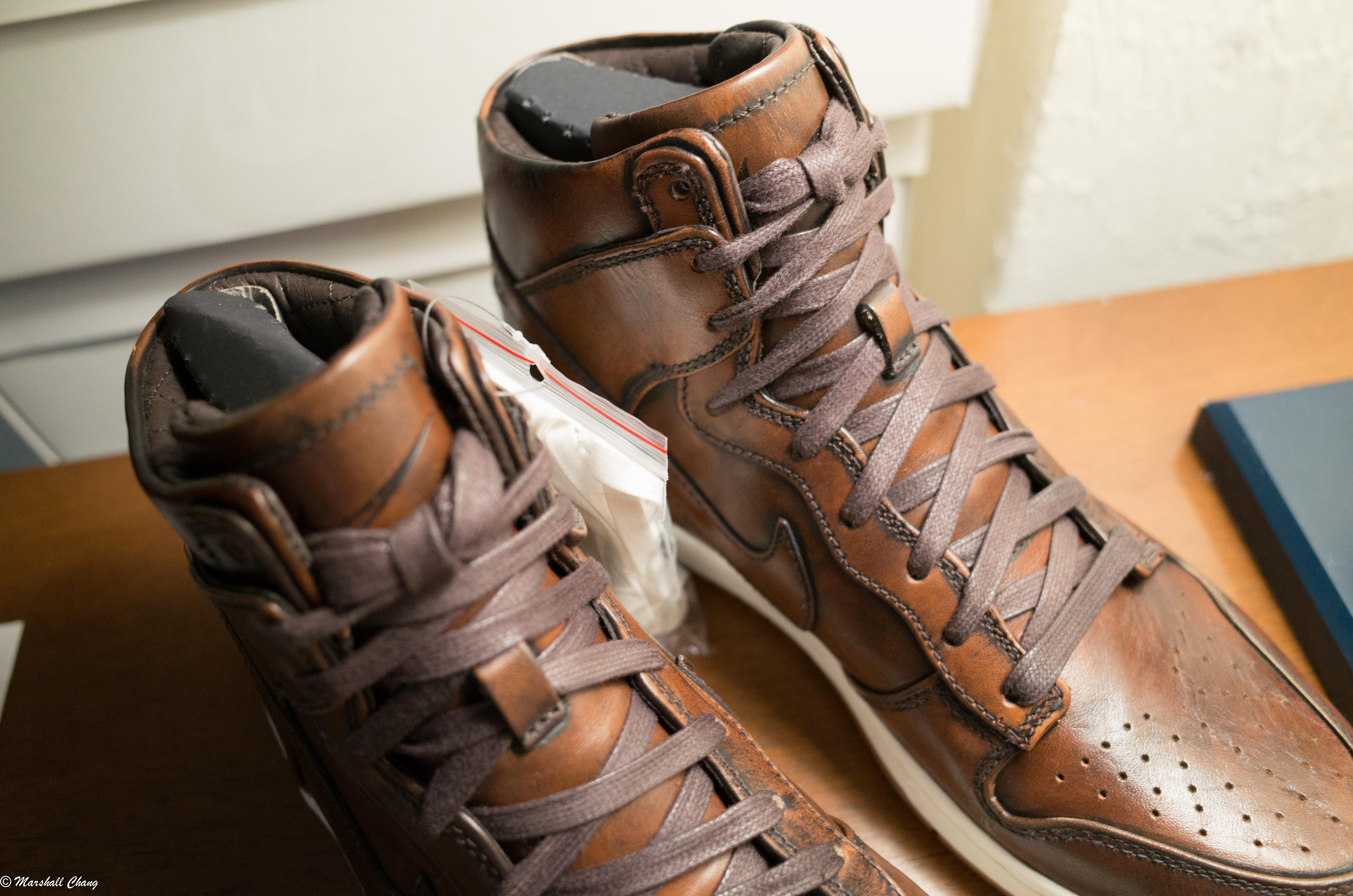 huge discount 7b836 7852b Nike ×. Dunk hi SP Burnished Leather
