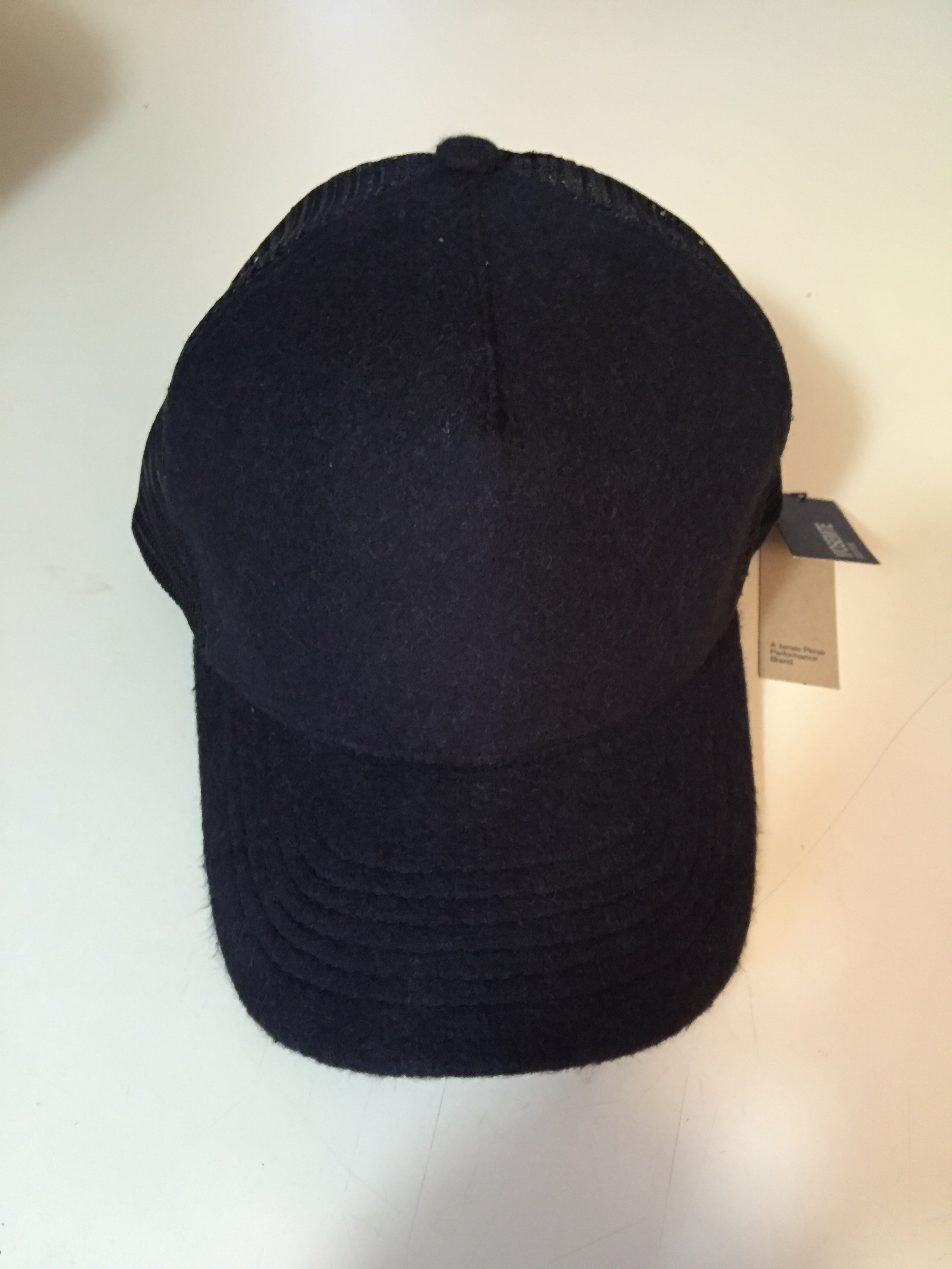00ab3e5e836 James Perse Double Face Knit Trucker Hat Size one size - Hats for ...