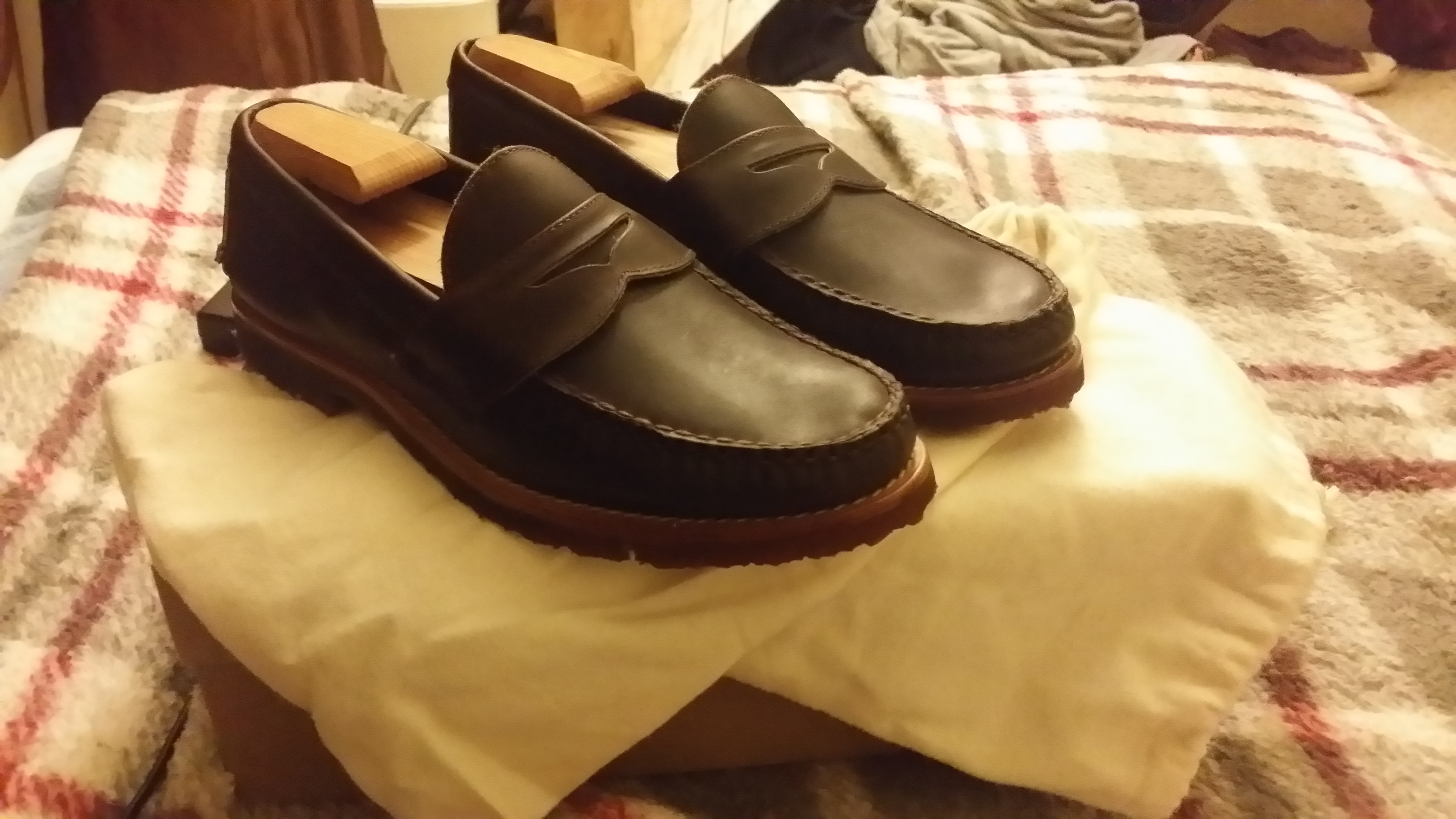 18a1027c872 Rancourt   Co. Pinch Penny Loafer Chocolate Size 9 - Formal Shoes ...