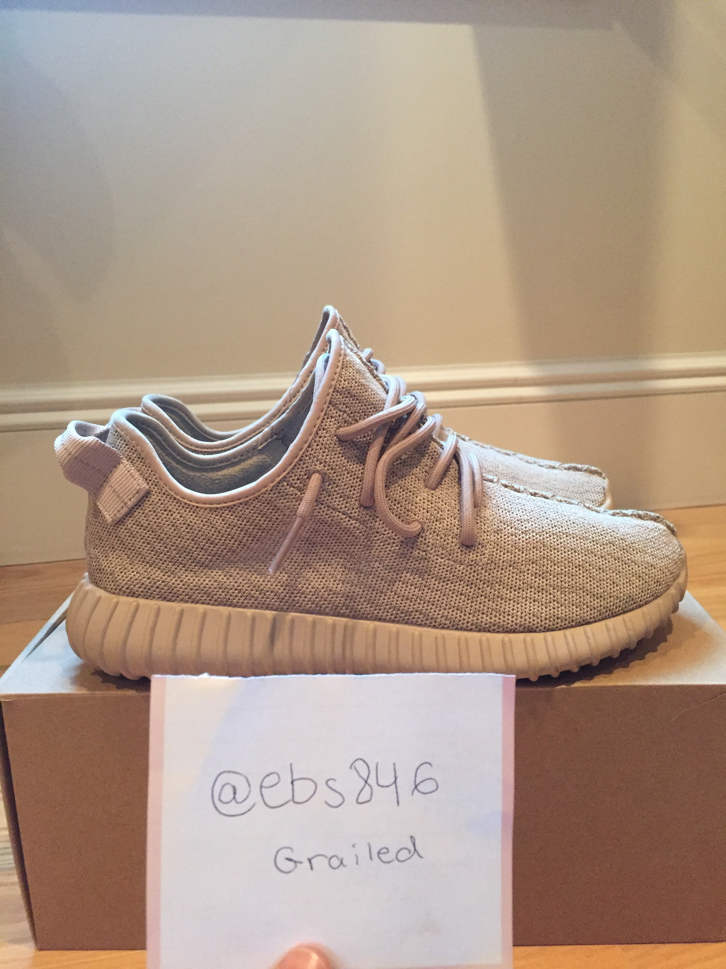 95be659b00c Adidas Kanye West ×. Yeezy Boost 350 Oxford Tan. Size  US 9.5 ...