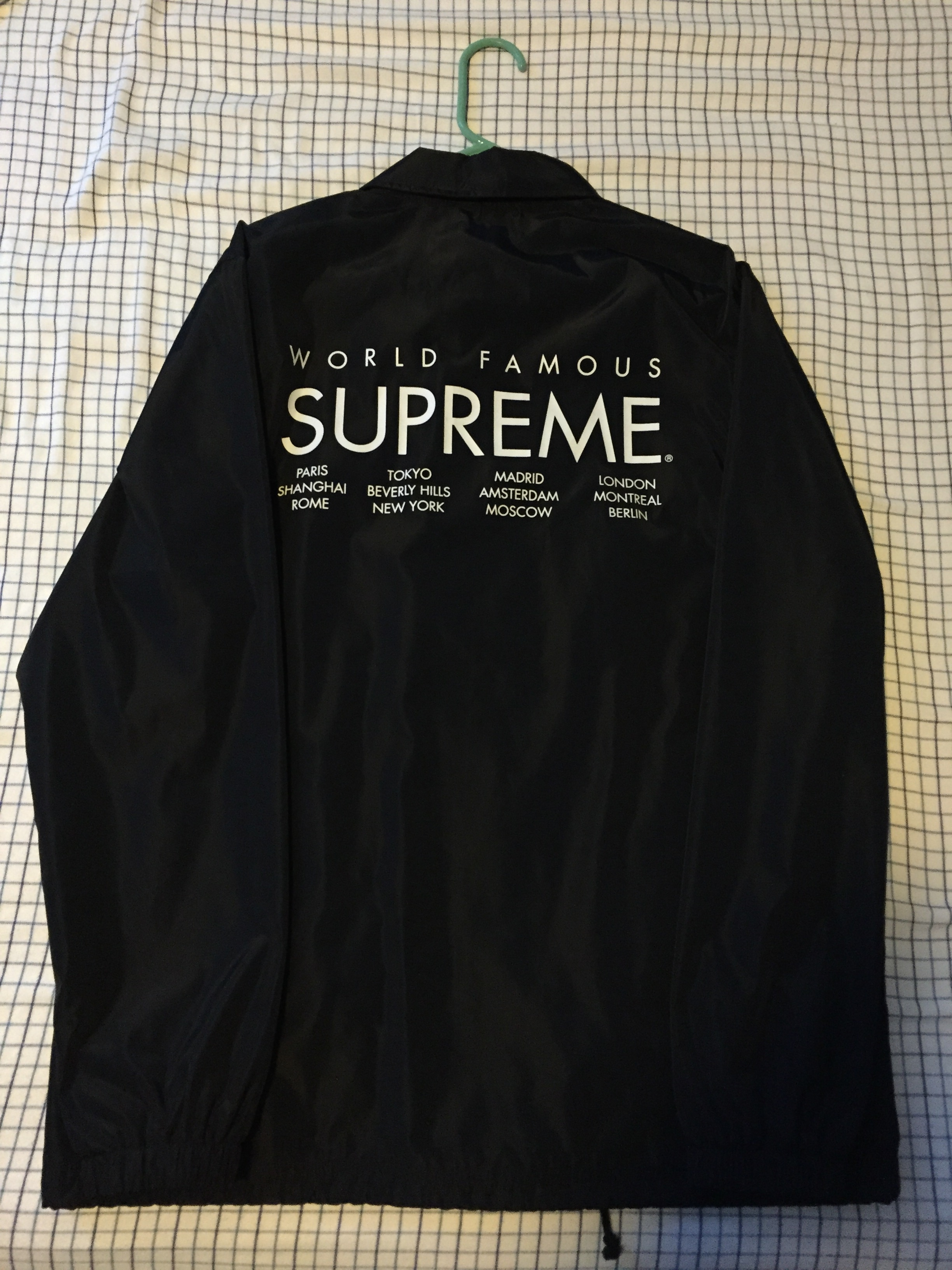 Supreme International Coaches Jacket