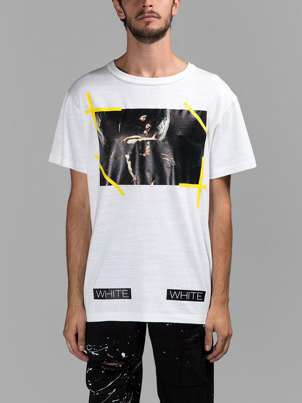 a011178a95 Off-white Caravaggio T Shirt   Grailed