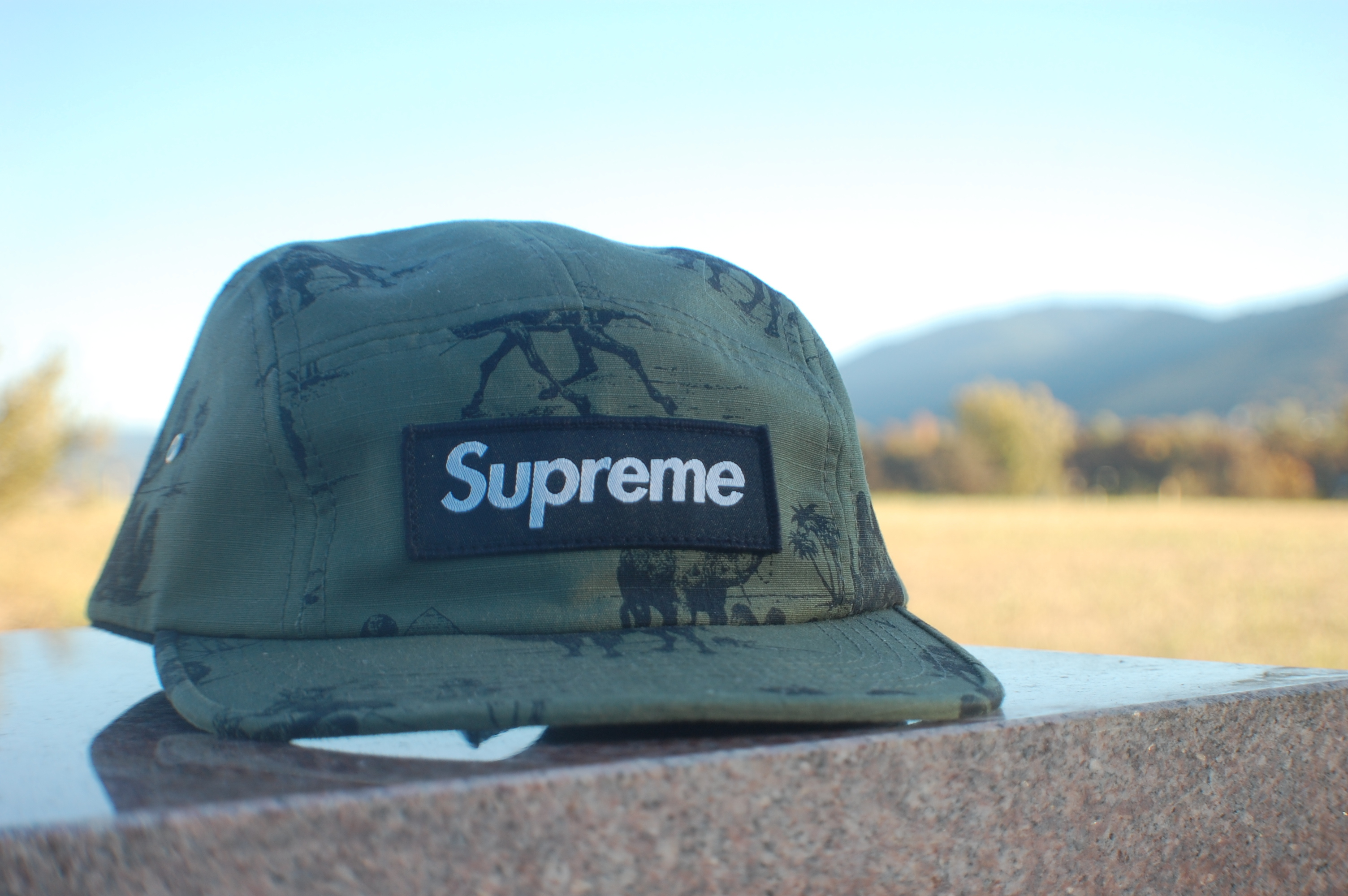 137ea9f8 Supreme ×. Camels Camp Cap (SS12). Size: ONE SIZE