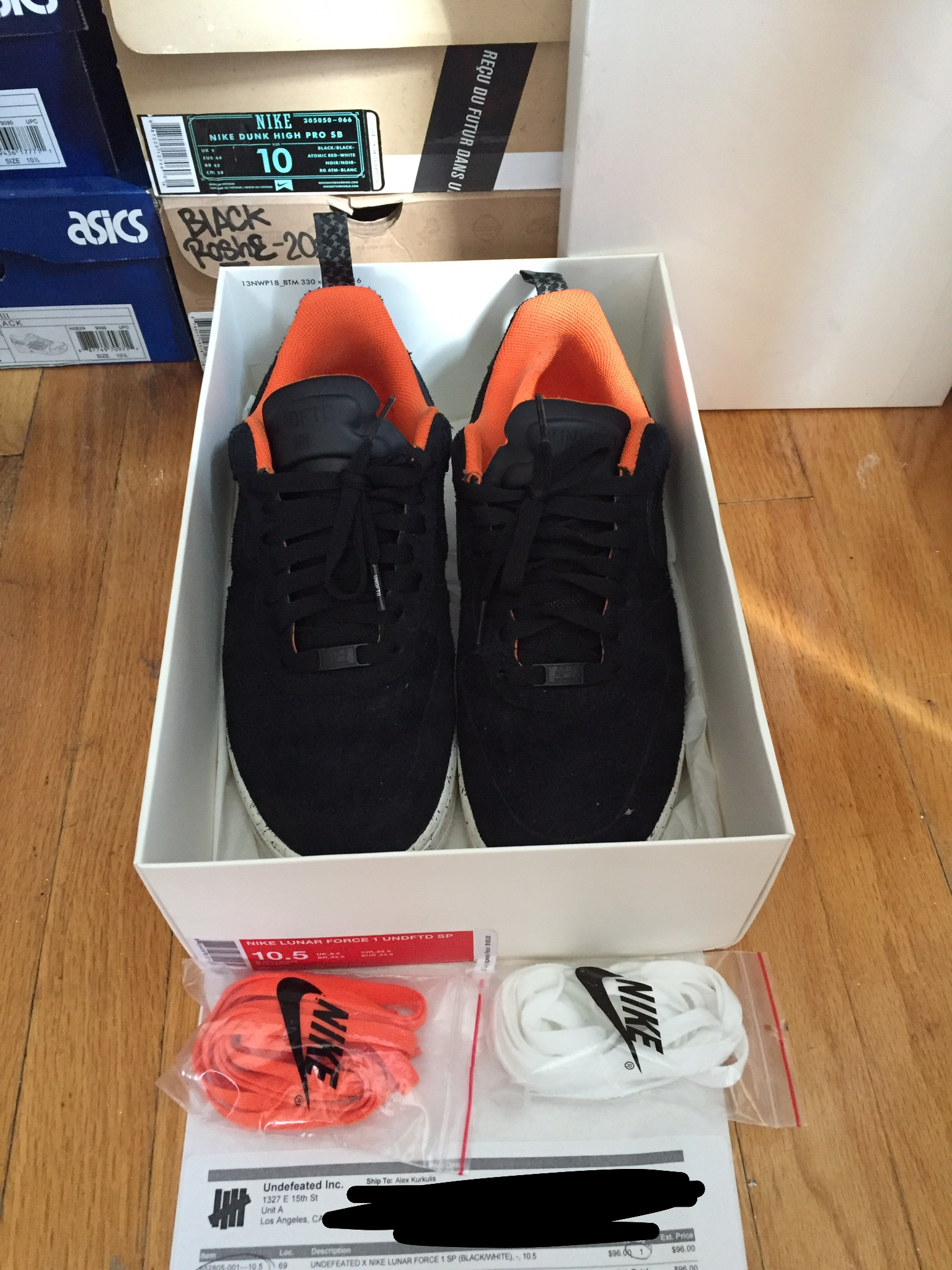 Nike Sole X Force Undefeated 1 Lunar Air rxshtQdC