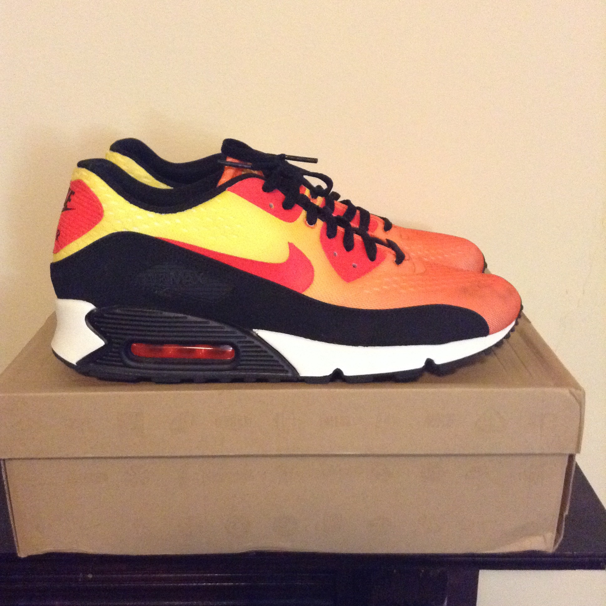 low priced 7e9ff ebef7 Nike Airmax 90 Em Sunset Pack | Grailed