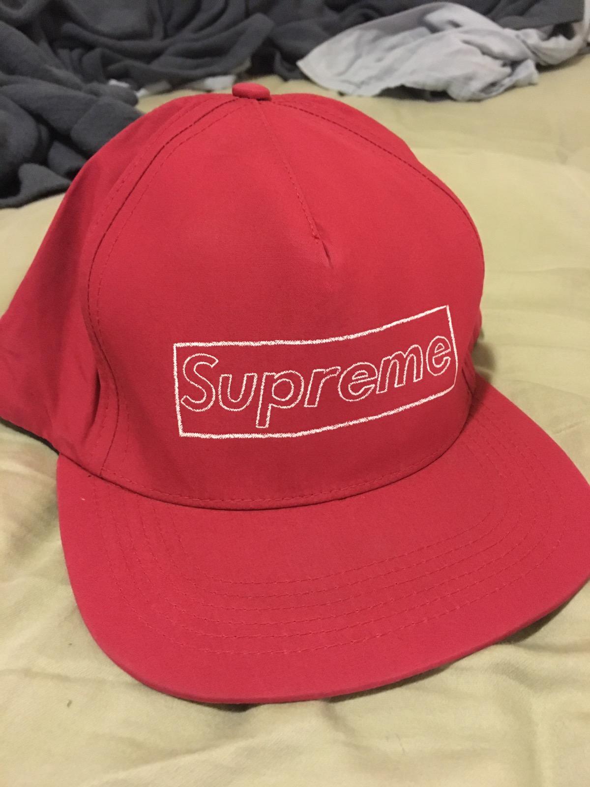 1ec6bba8dc9 Supreme Supreme x Kaws Box Logo SnapBack Size one size - Hats for Sale -  Grailed