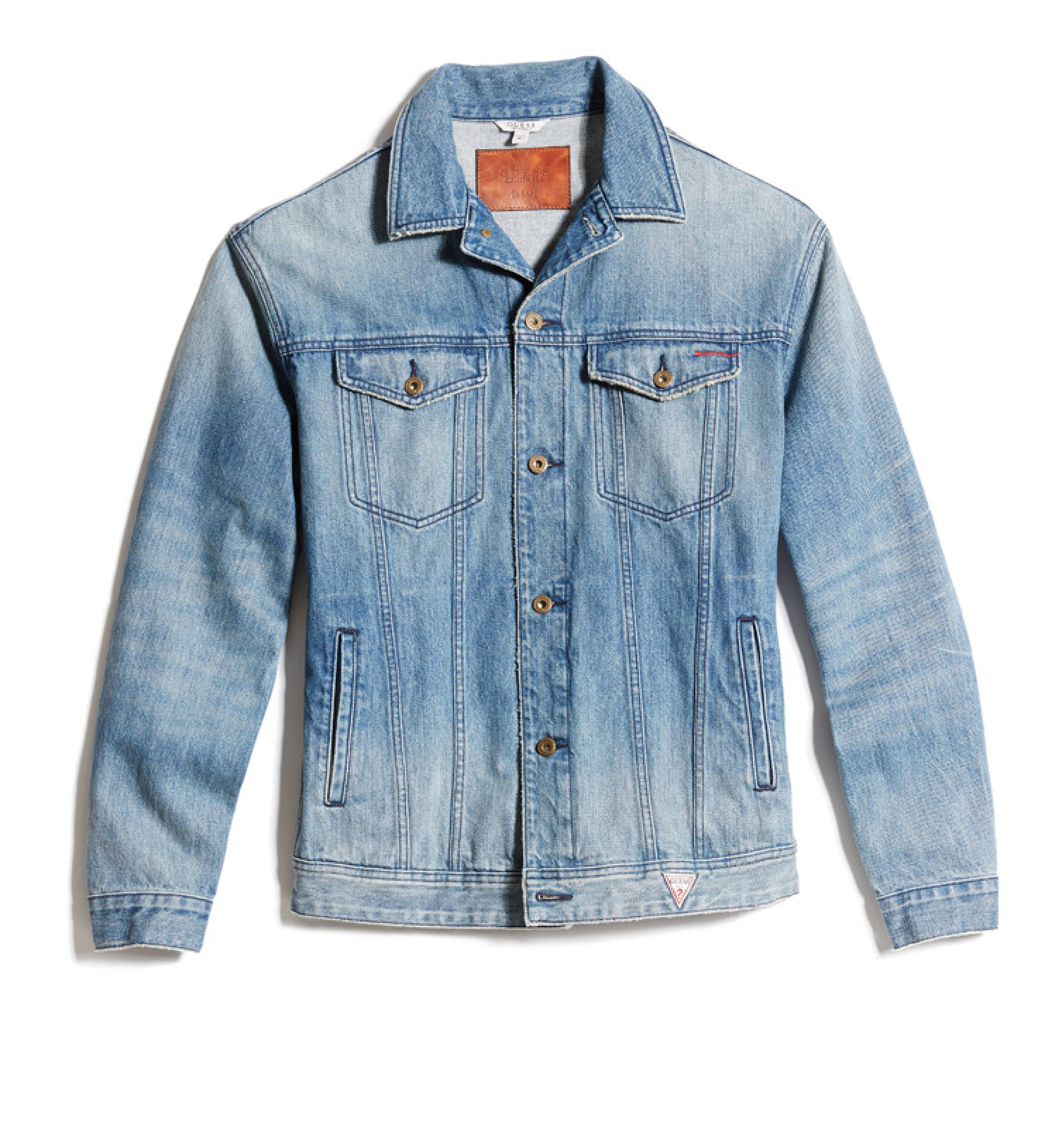 2b5fbdb48 Guess Vintage Wash Denim Jacket | Grailed