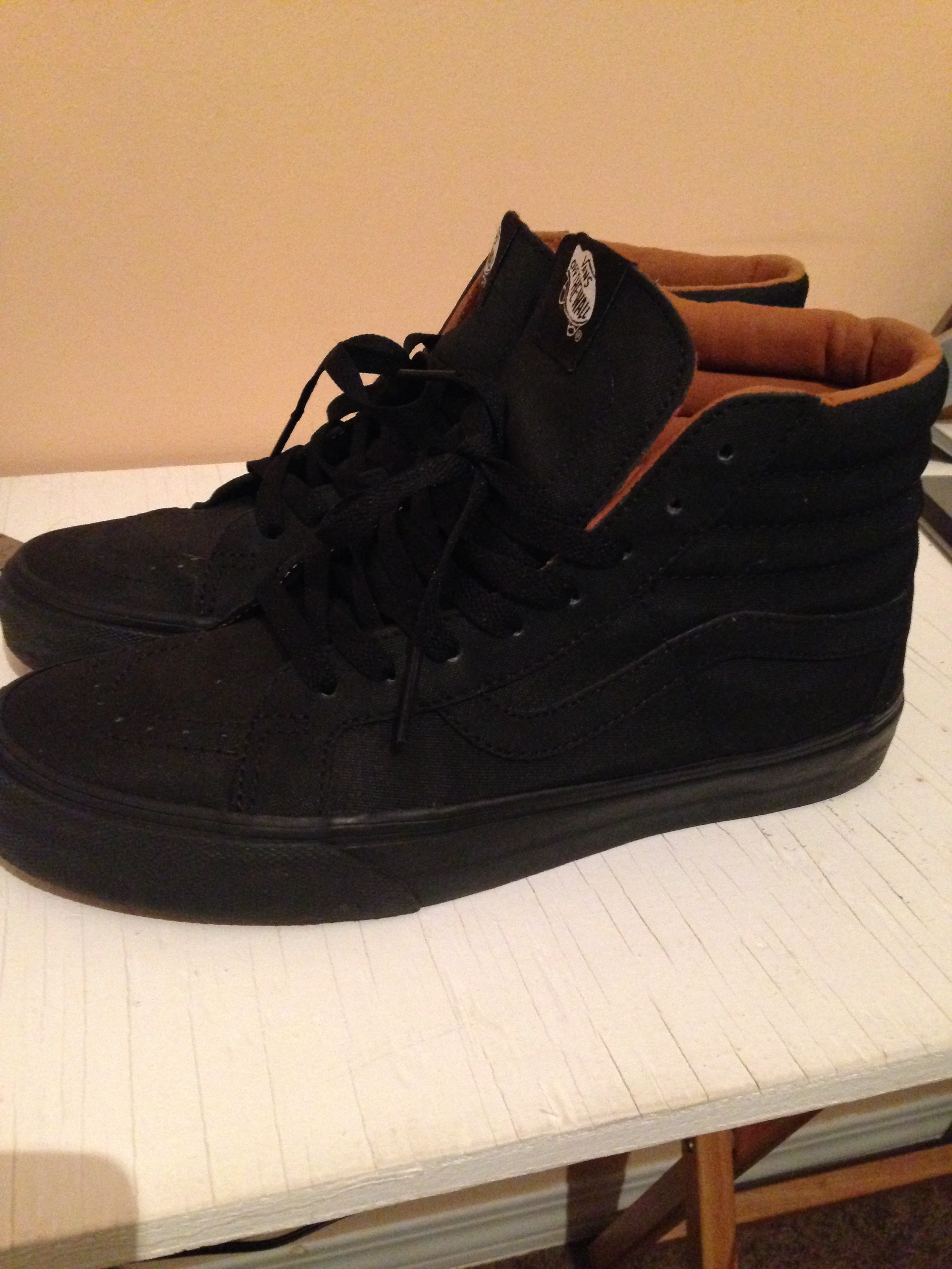 d1743c620aa4fd Vans Sk8 hi X-Tuff Black Size 8 - Hi-Top Sneakers for Sale - Grailed