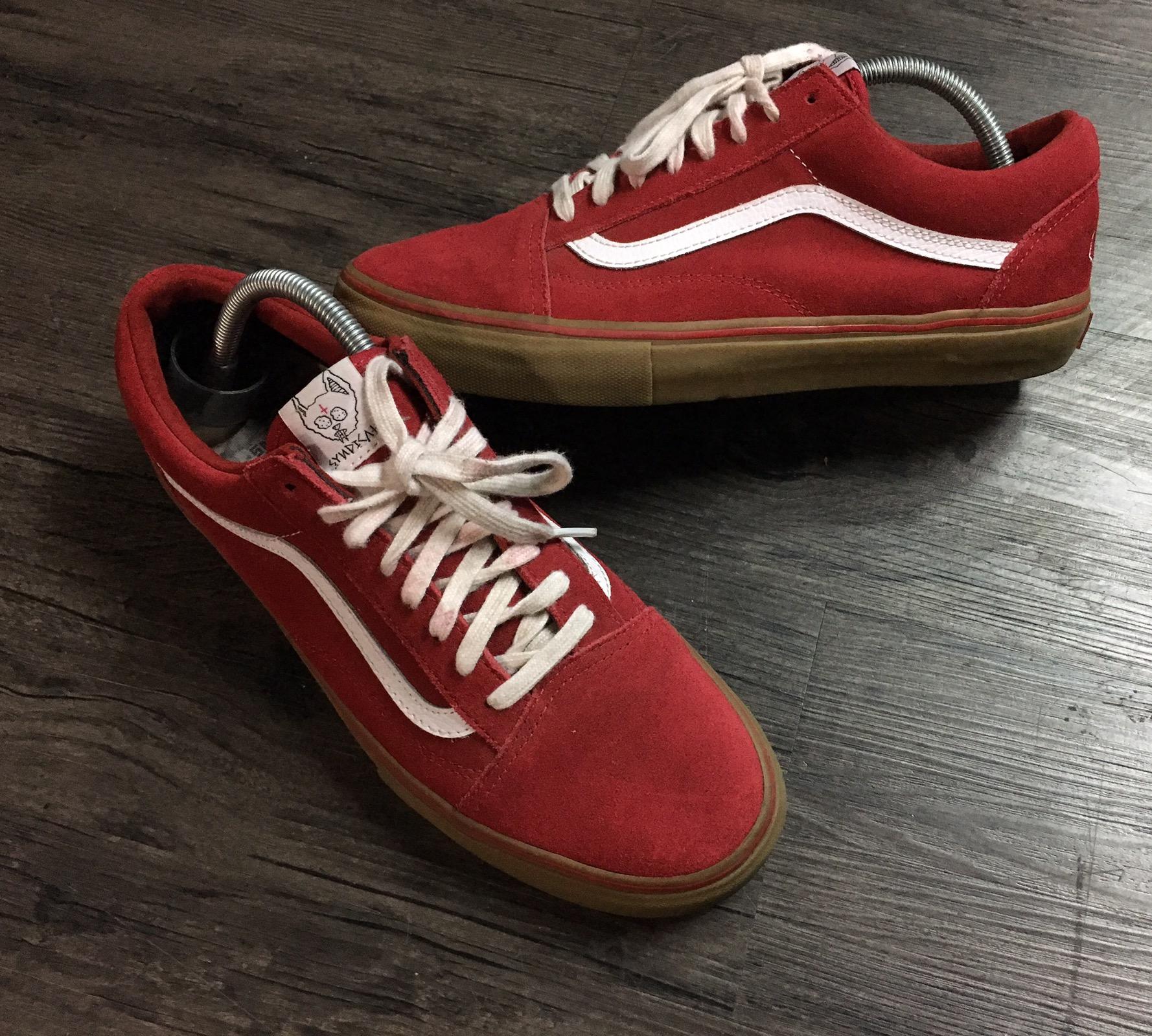 red vans golf wang