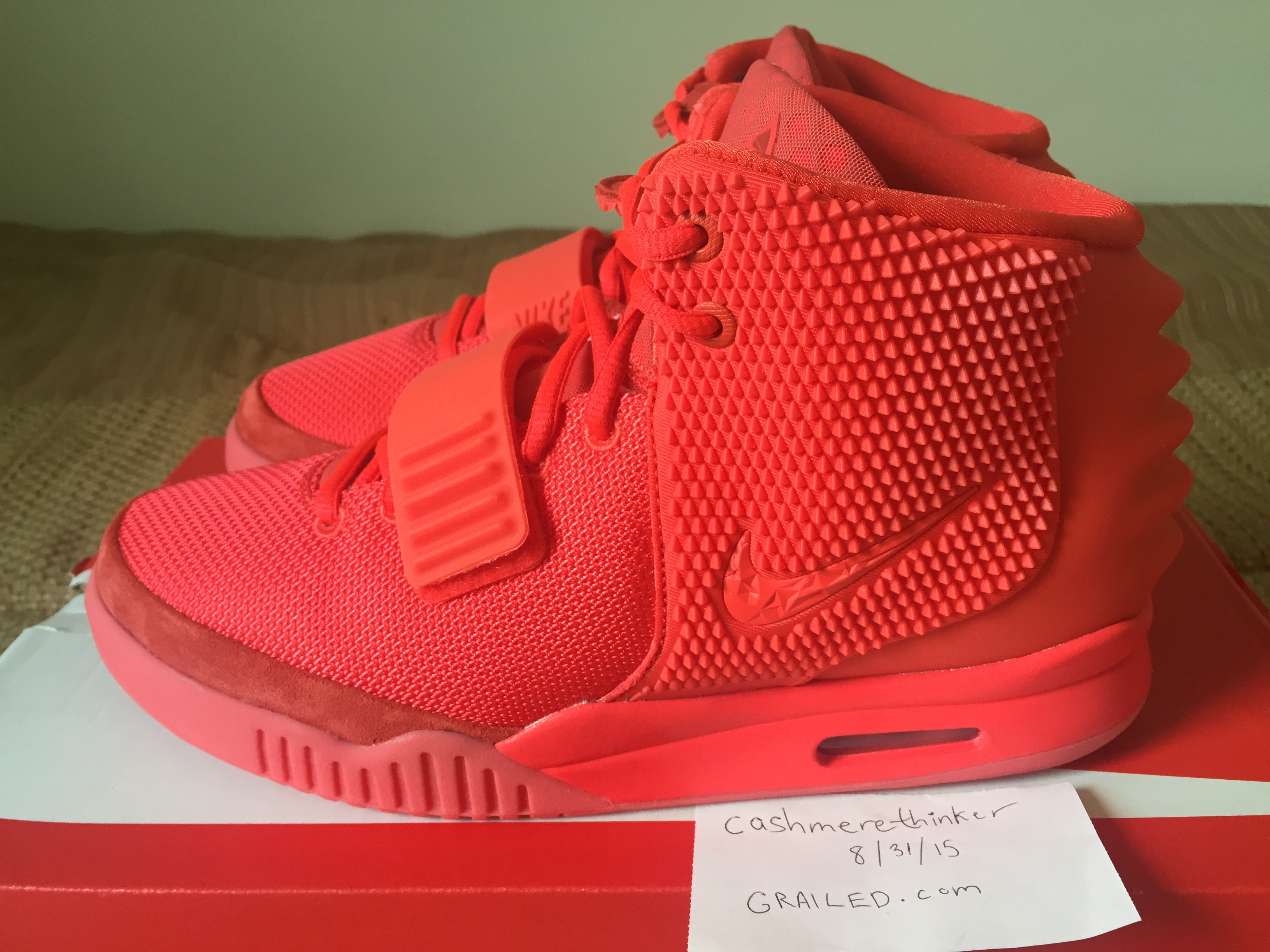 76d0353a34a60d Nike Air Yeezy 2 SP Red October Size 9 - for Sale - Grailed