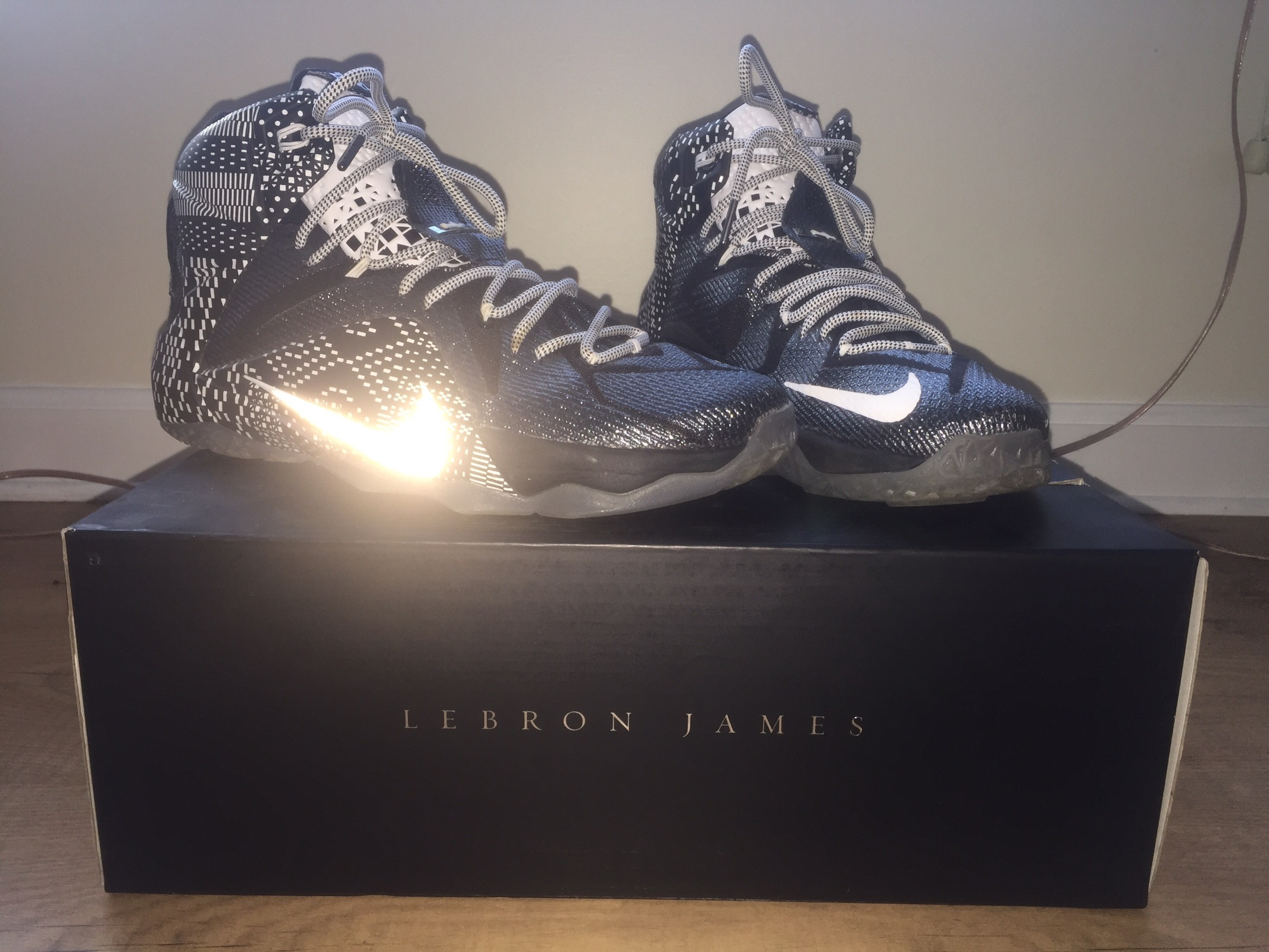 16b290d630b1 Nike ×. Lebron 12 BHM