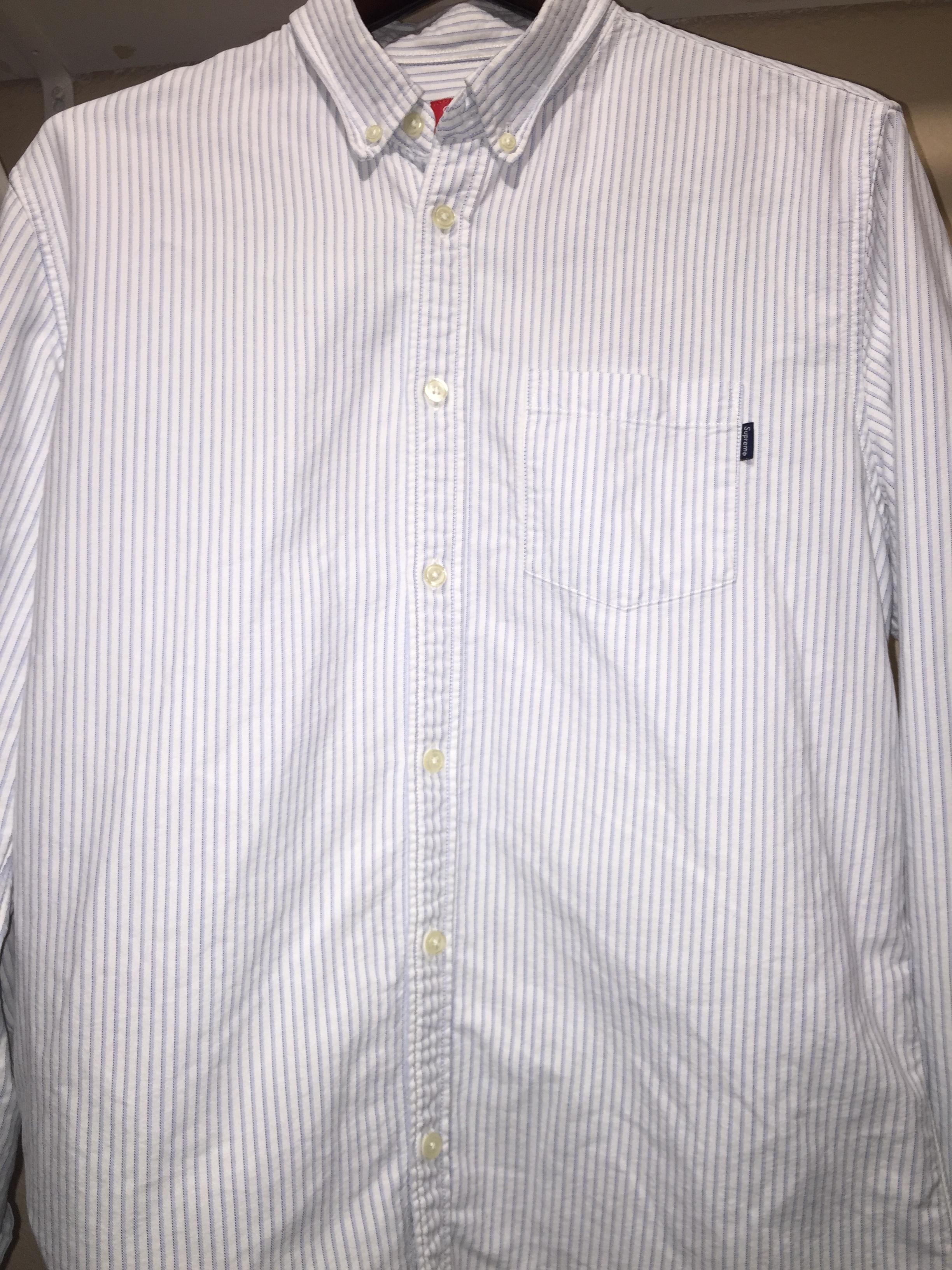 083995f98f0655 Supreme Supreme Oxford Shirt L | Grailed