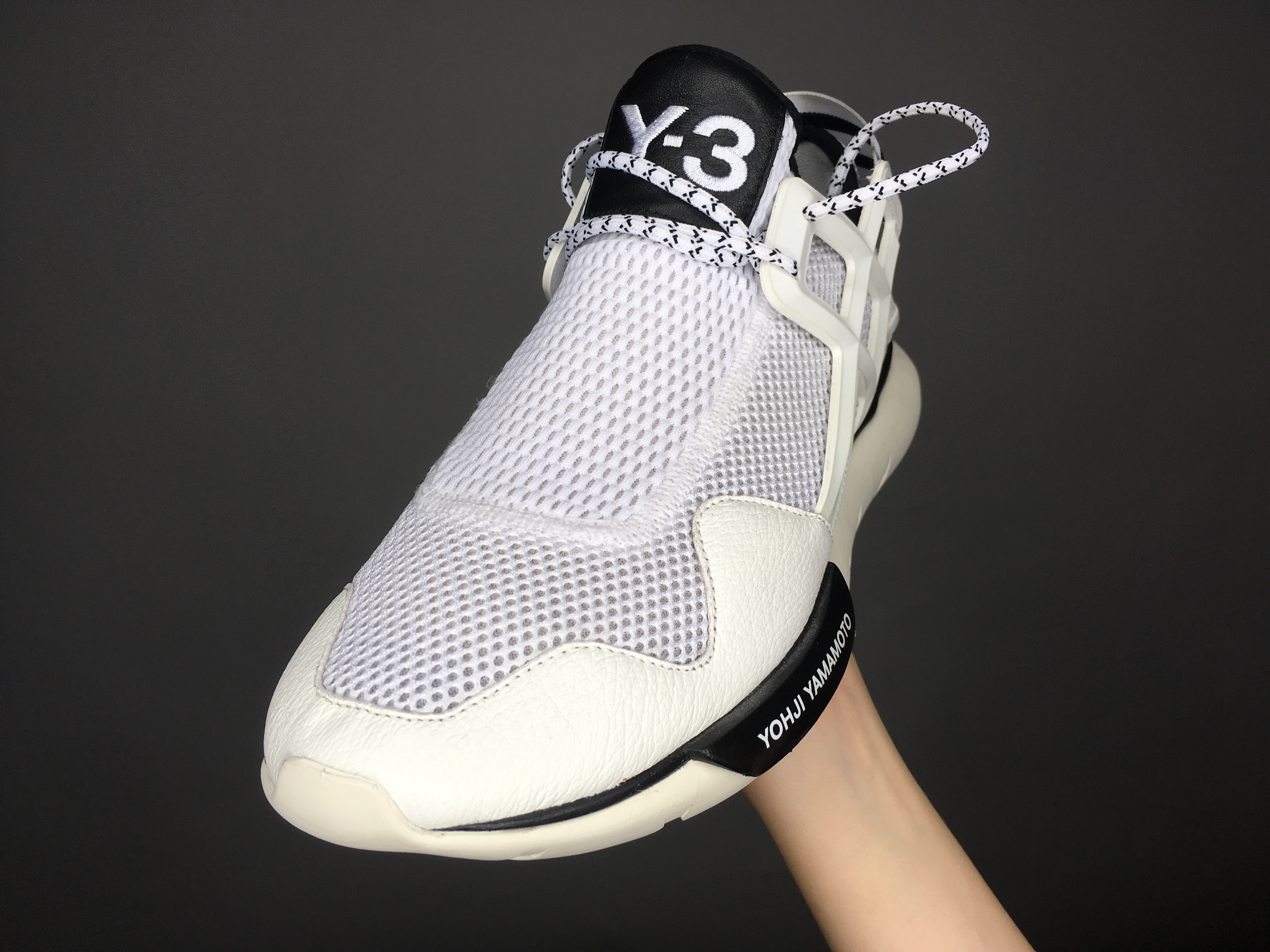02e0a2a39 Adidas Y-3 Qasa Racer Low White Size 8 - Low-Top Sneakers for Sale ...