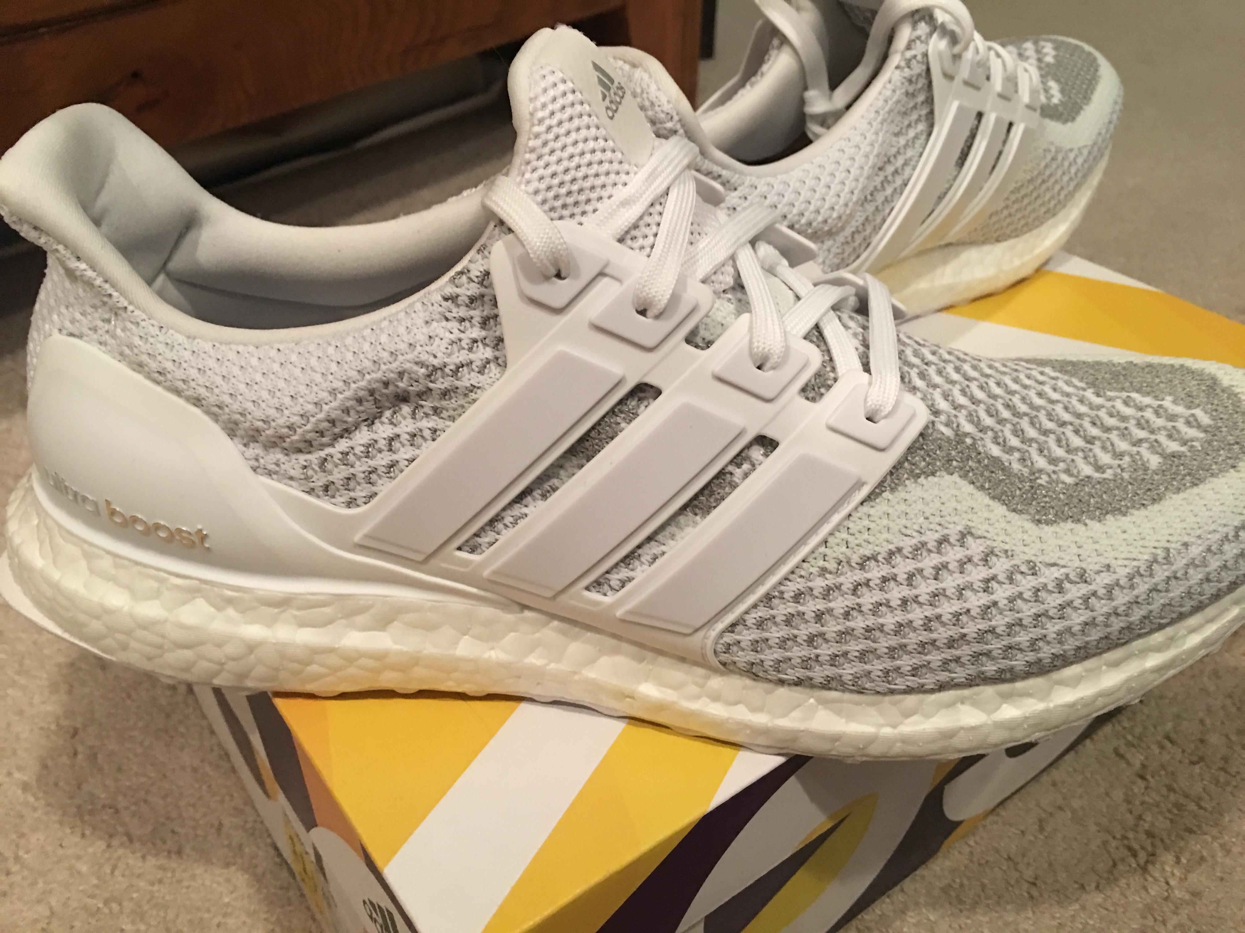 adidas ultra boost triple white 45