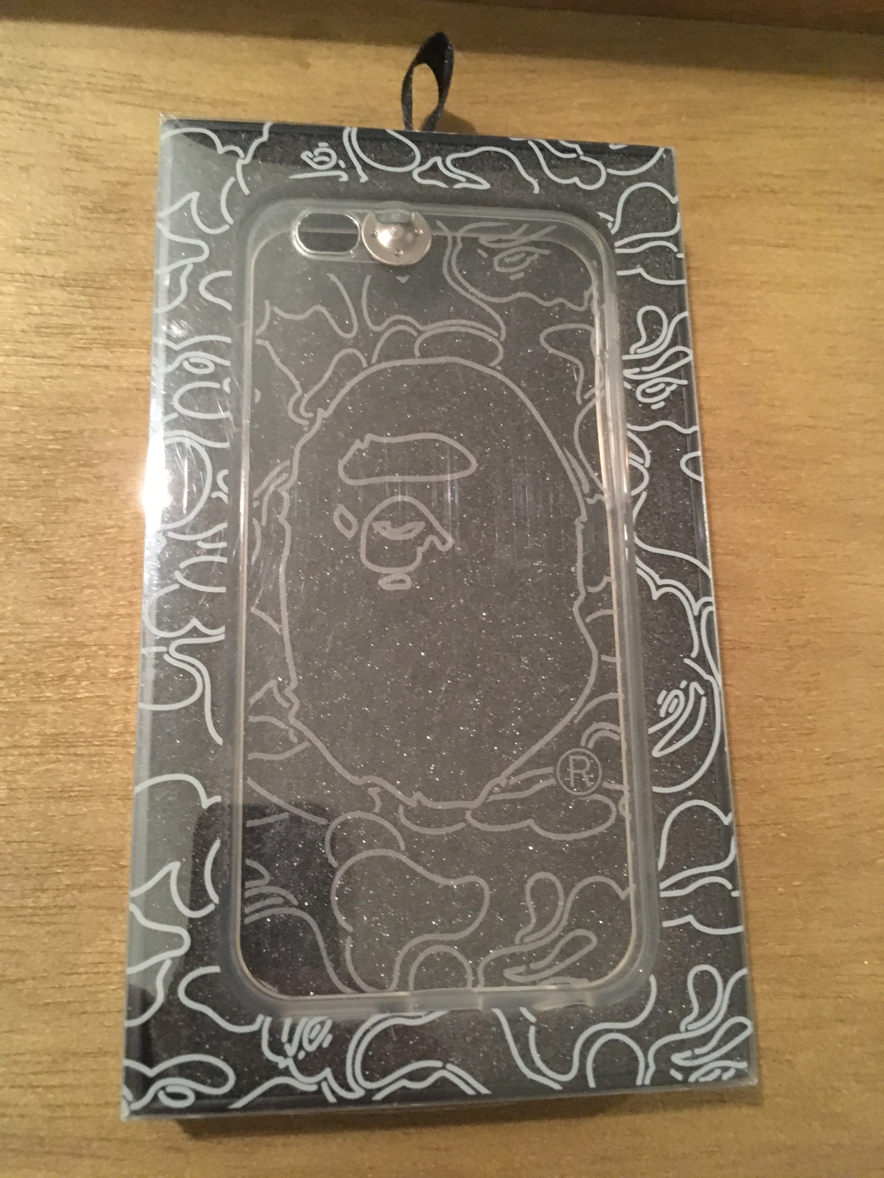 san francisco f4d01 0737d BAPE Light Up Phone Case iPhone 6/6s