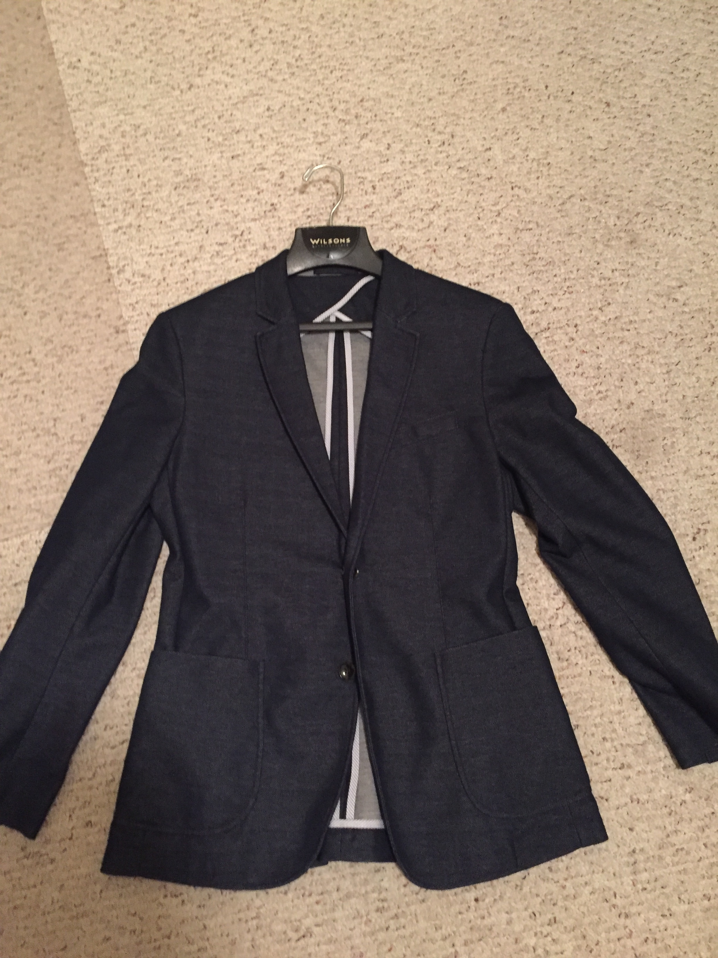6065004e Zara Cotton Pique Blazer | Grailed
